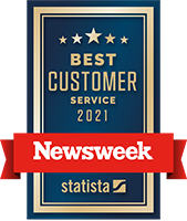 Newsweek award for customer service 2021