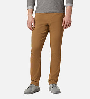 Man in tan pants.
