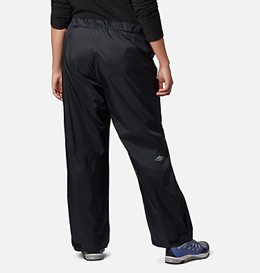 Women's Storm Surge™ Rain Pants - Plus Size Storm Surge™ Pant | 010 | 1X, Black, back