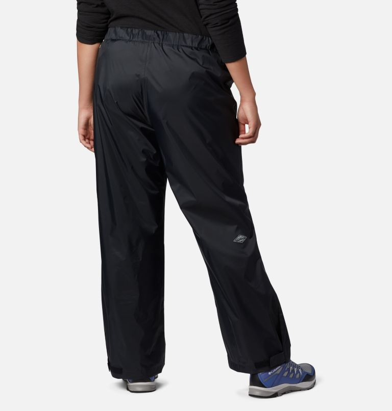 Storm Surge™ Pant | 010 | 2X Women's Storm Surge™ Rain Pants - Plus Size, Black, back