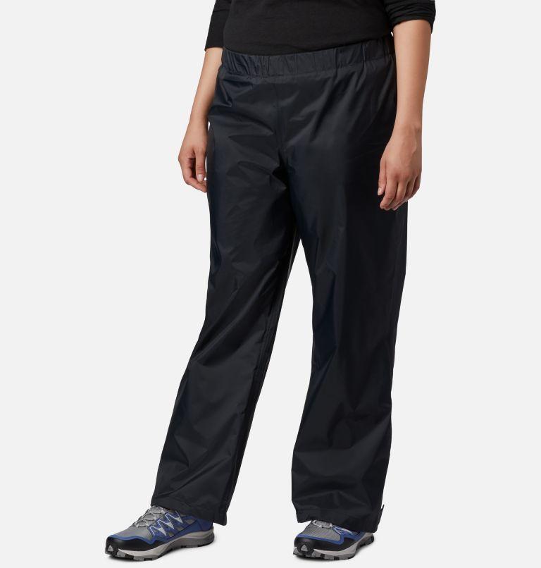 Storm Surge™ Pant | 010 | 1X Women's Storm Surge™ Rain Pants - Plus Size, Black, front