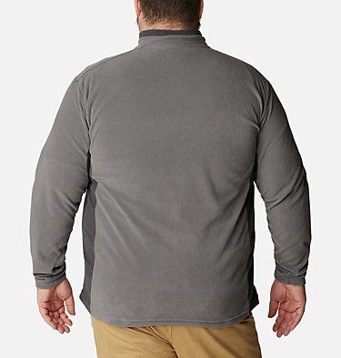 Men's Klamath Range™ II Half Zip Fleece Pullover - Big Klamath Range™ II Half Zip | 043 | 4X, City Grey, Shark, back