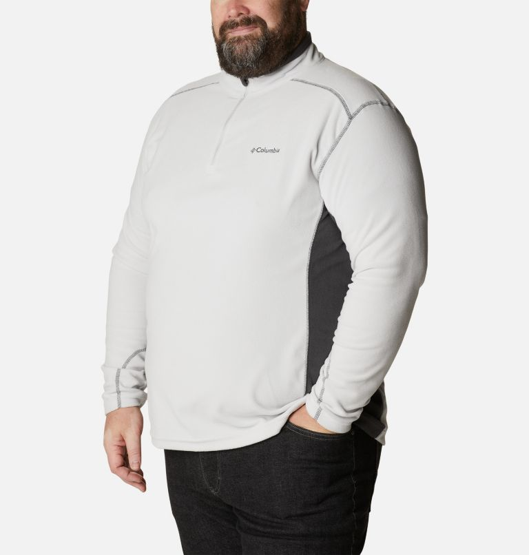 Men's Klamath Range™ II Half Zip Fleece Pullover - Big Men's Klamath Range™ II Half Zip Fleece Pullover - Big, a3