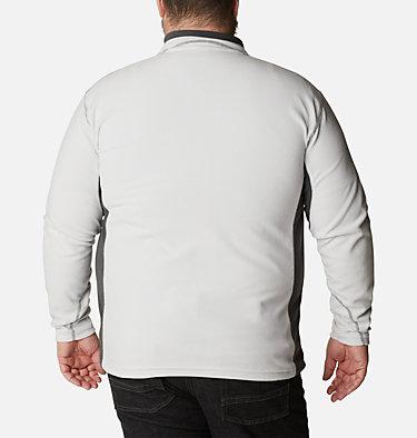 Men's Klamath Range™ II Half Zip Fleece Pullover - Big Klamath Range™ II Half Zip | 043 | 4X, Nimbus Grey, Shark, back