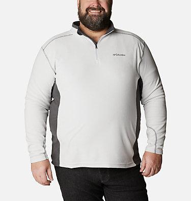 Men's Klamath Range™ II Half Zip Fleece Pullover - Big Klamath Range™ II Half Zip | 043 | 4X, Nimbus Grey, Shark, front