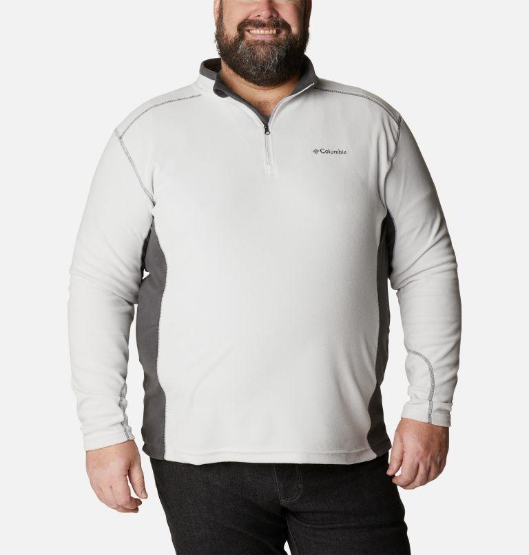 Klamath Range™ II Half Zip | 043 | 6X Men's Klamath Range™ II Half Zip Fleece Pullover - Big, Nimbus Grey, Shark, front