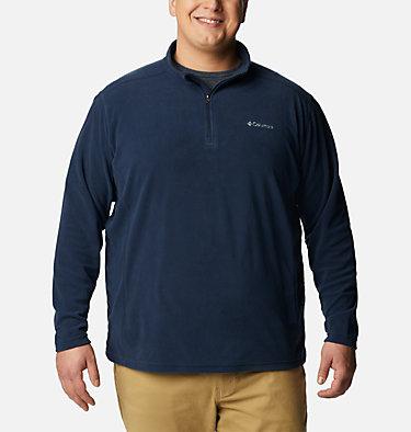 Men's Klamath Range™ II Half Zip Fleece Pullover - Big Klamath Range™ II Half Zip | 043 | 4X, Collegiate Navy Solid, front