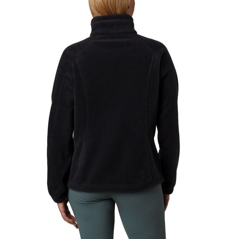 Benton Springs™ Full Zip | 010 | PXL Women's Benton Springs™ Full Zip Fleece - Petite, Black, back