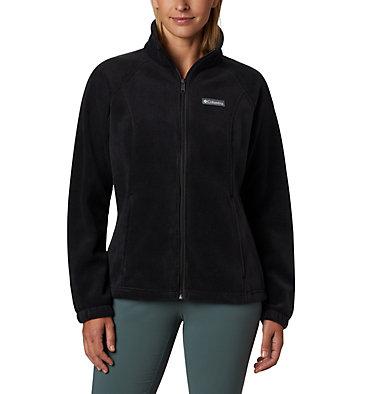 Women's Benton Springs™ Full Zip Fleece - Petite Benton Springs™ Full Zip | 618 | PL, Black, front
