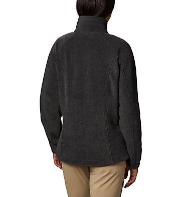 Women's Benton Springs™ Full Zip Fleece - Petite Benton Springs™ Full Zip | 618 | PL, Charcoal Heather, back