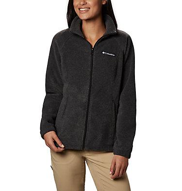 Women's Benton Springs™ Full Zip Fleece - Petite Benton Springs™ Full Zip | 618 | PL, Charcoal Heather, front