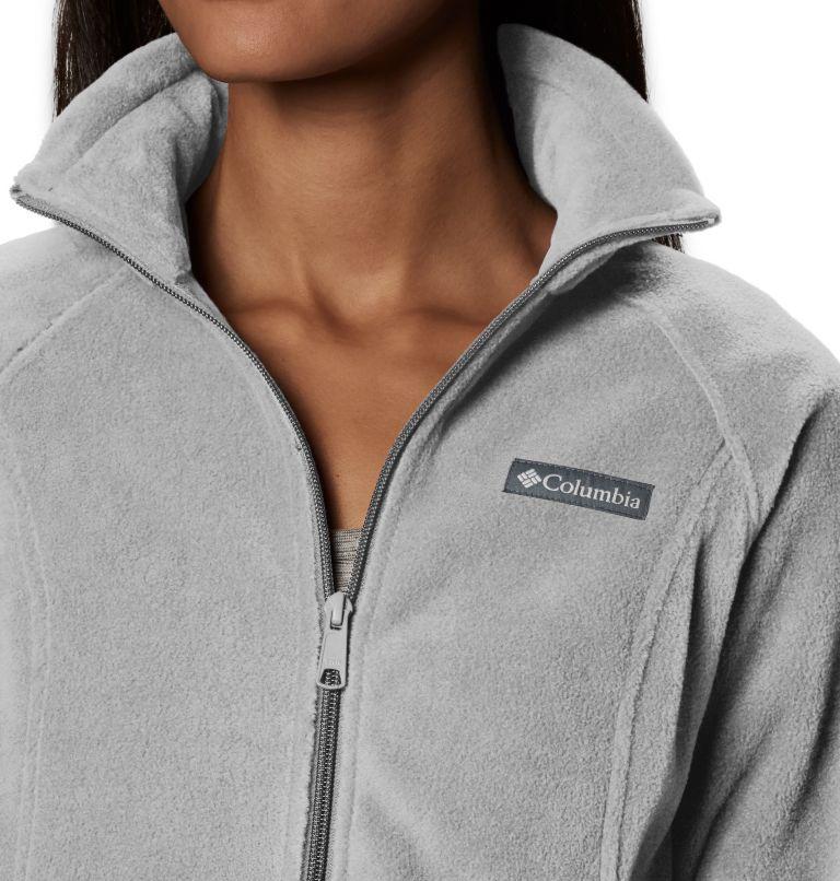 Benton Springs™ Full Zip   034   PL Women's Benton Springs™ Full Zip Fleece - Petite, Cirrus Grey Heather, a1