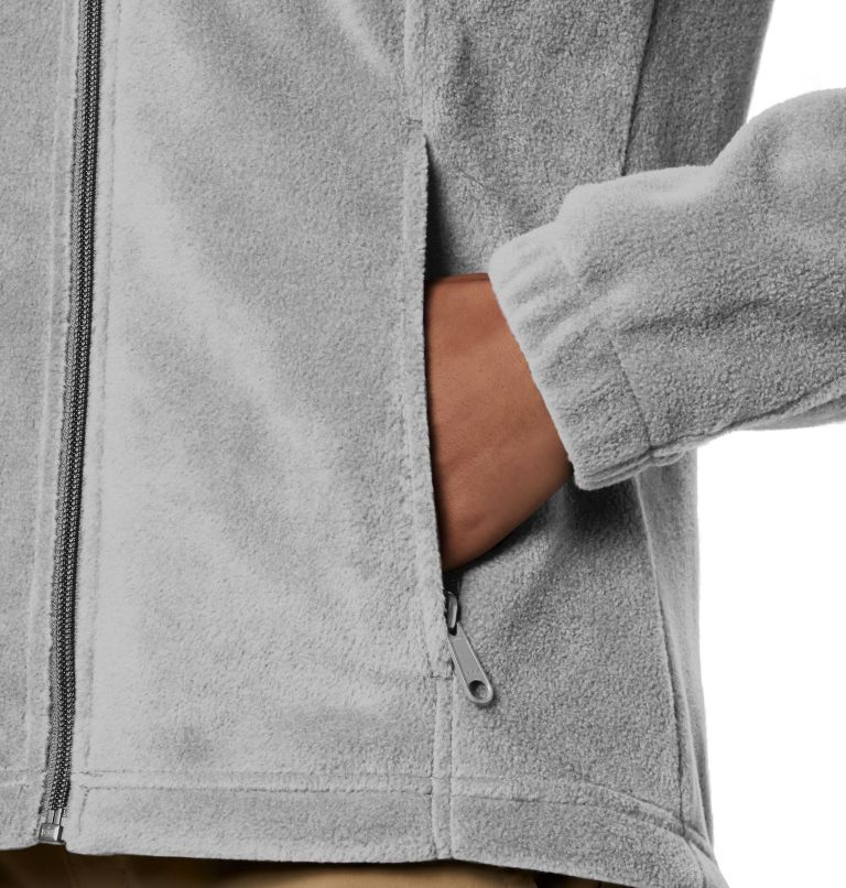 Benton Springs™ Full Zip   034   PL Women's Benton Springs™ Full Zip Fleece - Petite, Cirrus Grey Heather, a2