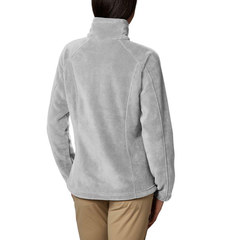 Benton Springs™ Full Zip   034   PL Women's Benton Springs™ Full Zip Fleece - Petite, Cirrus Grey Heather, back