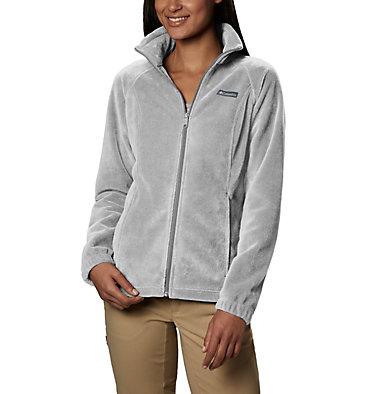Women's Benton Springs™ Full Zip Fleece - Petite Benton Springs™ Full Zip | 618 | PL, Cirrus Grey Heather, front