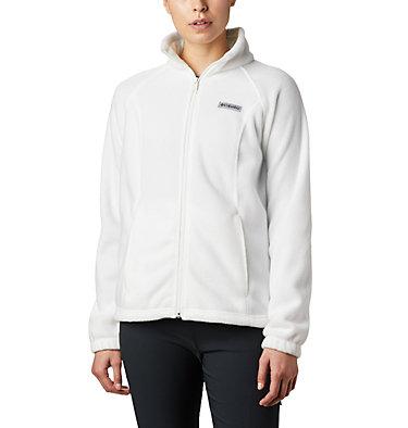 Women's Benton Springs™ Full Zip Fleece - Petite Benton Springs™ Full Zip | 618 | PL, Sea Salt, front