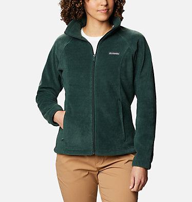 Women's Benton Springs™ Full Zip Fleece - Petite Benton Springs™ Full Zip | 618 | PL, Spruce, front