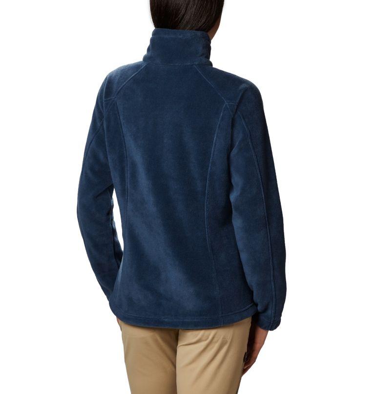 Benton Springs™ Full Zip | 425 | PL Women's Benton Springs™ Full Zip Fleece - Petite, Columbia Navy, back