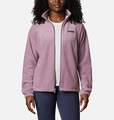 Women's Benton Springs™ Full Zip Fleece - Petite Benton Springs™ Full Zip | 618 | PL, Winter Mauve, front