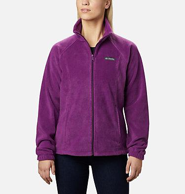 Women's Benton Springs™ Full Zip Fleece - Petite Benton Springs™ Full Zip | 618 | PL, Plum, front