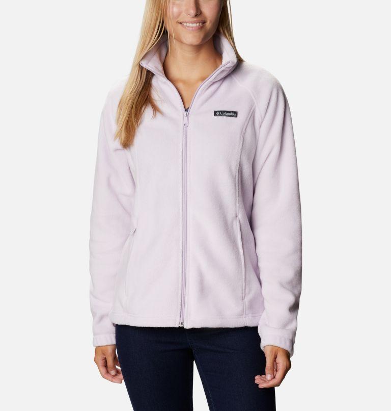 Benton Springs™ Full Zip | 584 | PXL Women's Benton Springs™ Full Zip Fleece - Petite, Pale Lilac, front