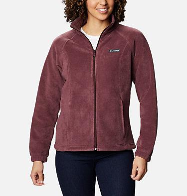 Women's Benton Springs™ Full Zip Fleece - Petite Benton Springs™ Full Zip | 618 | PL, Malbec, front