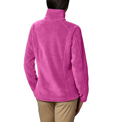 Women's Benton Springs™ Full Zip Fleece - Petite Benton Springs™ Full Zip | 618 | PL, Fuchsia, back