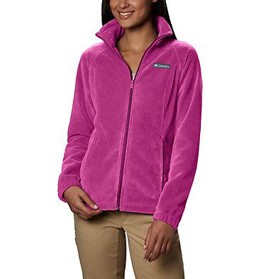 Women's Benton Springs™ Full Zip Fleece - Petite Benton Springs™ Full Zip | 618 | PL, Fuchsia, front