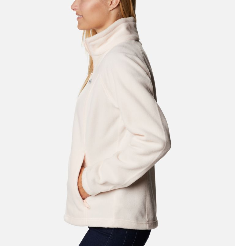 Benton Springs™ Full Zip   886   PXL Women's Benton Springs™ Full Zip Fleece - Petite, Peach Quartz, a1