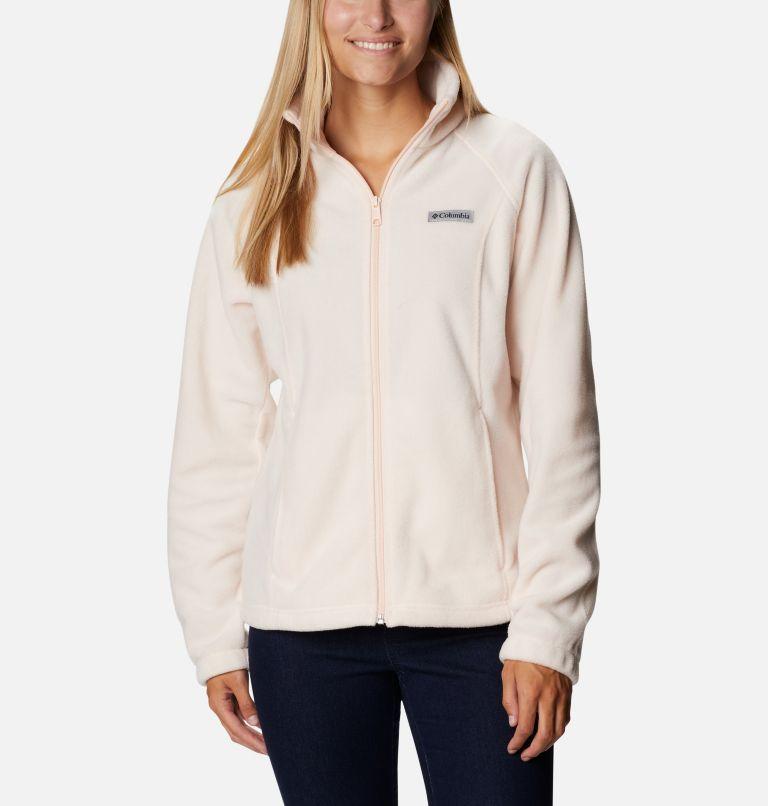 Benton Springs™ Full Zip   886   PXL Women's Benton Springs™ Full Zip Fleece - Petite, Peach Quartz, front