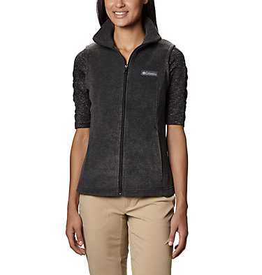 Women's Benton Springs™ Vest - Petite Benton Springs™ Vest | 032 | PM, Charcoal Heather, front