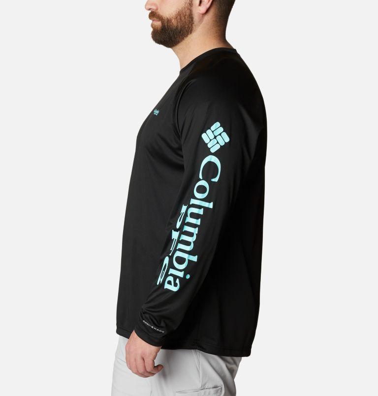 Terminal Tackle™ LS Shirt | 027 | 6X Men's PFG Terminal Tackle™ Long Sleeve Shirt - Big, Black, Gulf Stream Logo, a1