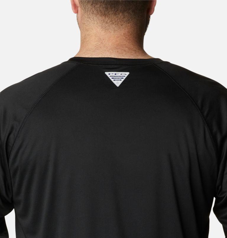 Terminal Tackle™ LS Shirt | 027 | 6X Men's PFG Terminal Tackle™ Long Sleeve Shirt - Big, Black, Gulf Stream Logo, a3