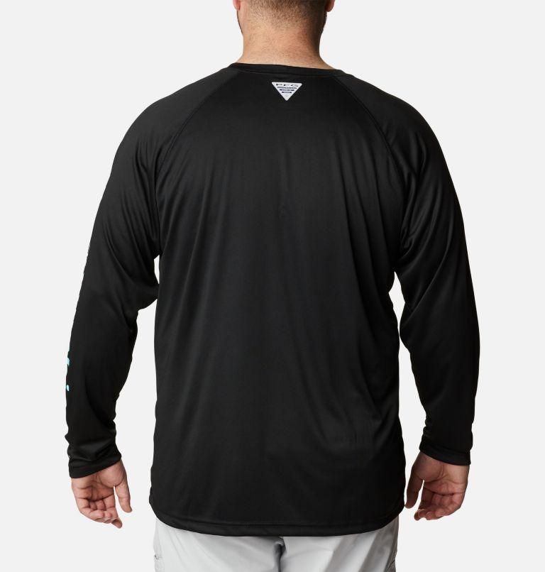 Terminal Tackle™ LS Shirt | 027 | 6X Men's PFG Terminal Tackle™ Long Sleeve Shirt - Big, Black, Gulf Stream Logo, back