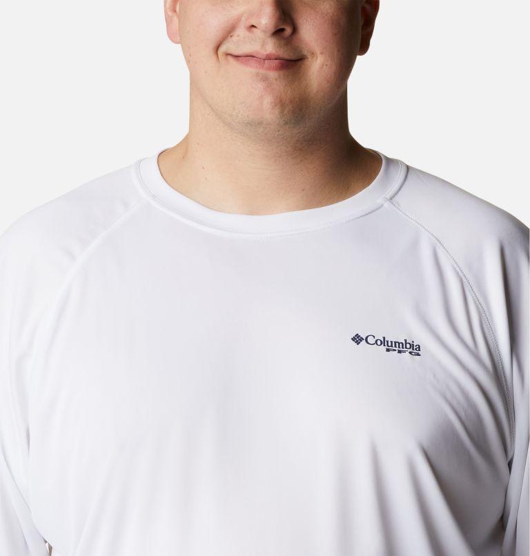 Terminal Tackle™ LS Shirt   114   1X Men's PFG Terminal Tackle™ Long Sleeve Shirt - Big, White, Nightshade Logo, a2