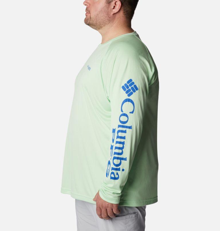Terminal Tackle™ LS Shirt | 376 | 3X Men's PFG Terminal Tackle™ Long Sleeve Shirt - Big, Key West, Vivid Blue Logo, a1