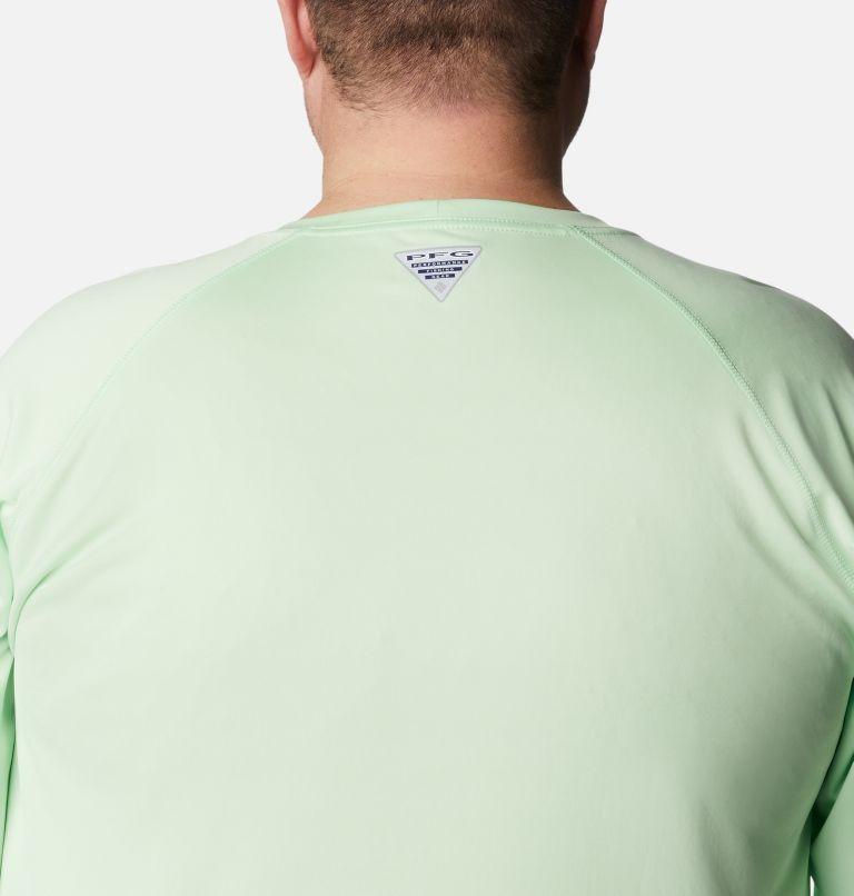 Terminal Tackle™ LS Shirt | 376 | 3X Men's PFG Terminal Tackle™ Long Sleeve Shirt - Big, Key West, Vivid Blue Logo, a3