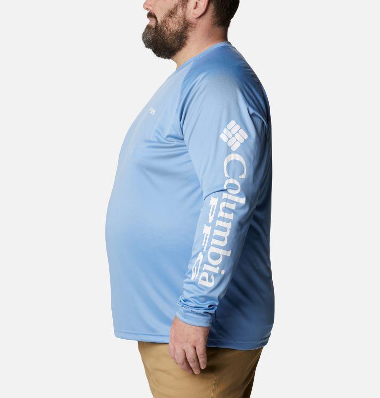 Terminal Tackle™ LS Shirt   459   1X Men's PFG Terminal Tackle™ Long Sleeve Shirt - Big, White Cap, White Logo, a1