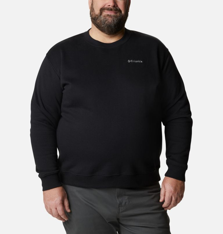 Men's Hart Mountain™ II Crew Fleece Sweatshirt  - Big Men's Hart Mountain™ II Crew Fleece Sweatshirt  - Big, front
