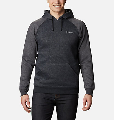 Chandail à capuchon Hart Mountain II pour homme - Grandes tailles Hart Mountain™ II Hoodie | 397 | 1X, Black Heather, Shark Heather, front