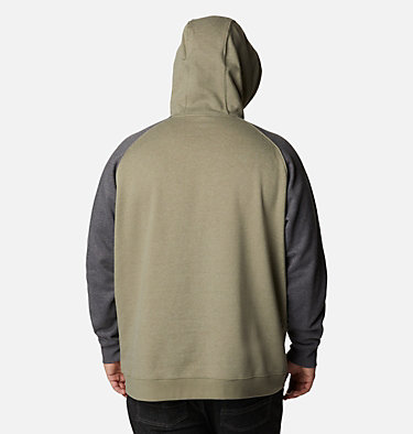 Chandail à capuchon Hart Mountain II pour homme - Grandes tailles Hart Mountain™ II Hoodie | 397 | 1X, Stone Green Heather, Shark Heather, back