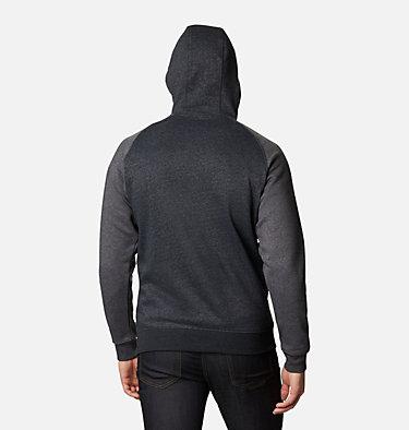 Men's Hart Mountain™ II Fleece Hoodie - Tall Hart Mountain™ II Hoodie | 012 | LT, Black Heather, Shark Heather, back