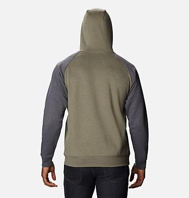 Men's Hart Mountain™ II Fleece Hoodie - Tall Hart Mountain™ II Hoodie | 012 | LT, Stone Green Heather, Shark Heather, back