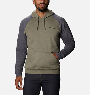 Chandail à capuchon Hart Mountain II pour homme - Grandes tailles Hart Mountain™ II Hoodie | 012 | LT, Stone Green Heather, Shark Heather, front