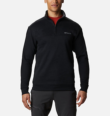 Men's Hart Mountain™ II Half Zip Hart Mountain™ II Half Zip | 345 | XL, Black, front