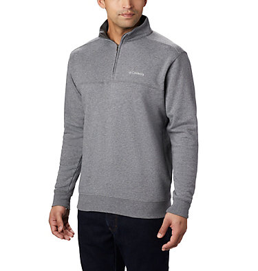 Men's Hart Mountain™ II Half Zip Hart Mountain™ II Half Zip | 345 | XL, Charcoal Heather, front