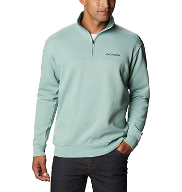 Men's Hart Mountain™ II Half Zip Hart Mountain™ II Half Zip | 345 | XL, Aqua Tone Heather, front
