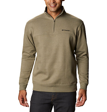 Men's Hart Mountain™ II Half Zip Hart Mountain™ II Half Zip | 345 | XL, Stone Green Heather, front