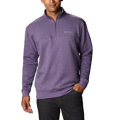 Men's Hart Mountain™ II Half Zip Hart Mountain™ II Half Zip | 345 | XL, Soft Purple Heather, front