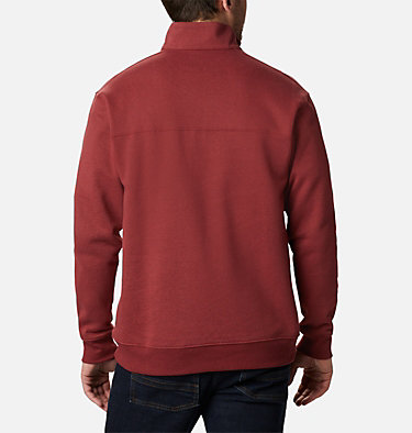 Men's Hart Mountain™ II Half Zip Hart Mountain™ II Half Zip | 345 | XL, Red Jasper, back
